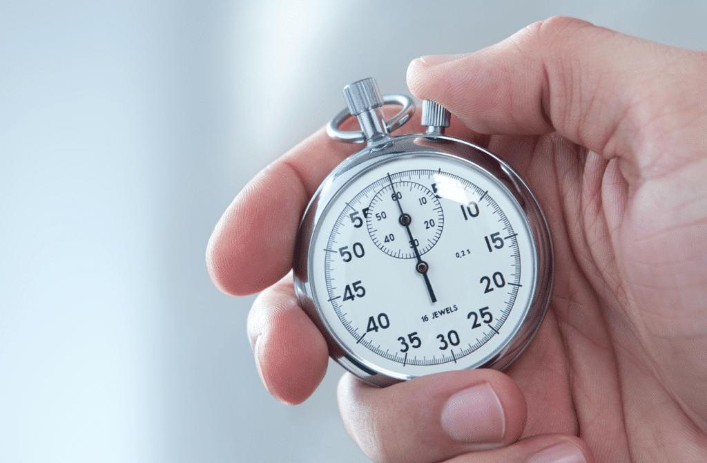 Do pomiaru czasu penetracji można wykorzystać zwyczajny stoper.